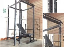jaula de potencia mini gimnasio power rack