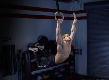muscle up con anillas